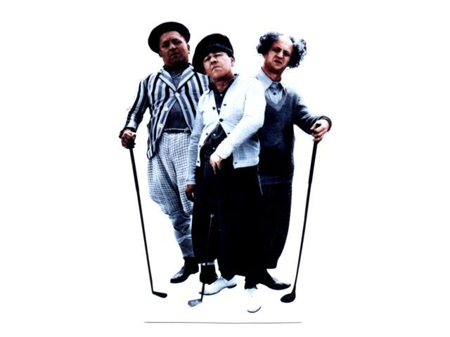 Three Stooges-Golf Lifesized Standup