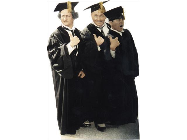 Three Stooges Graduates Lifesized Standup