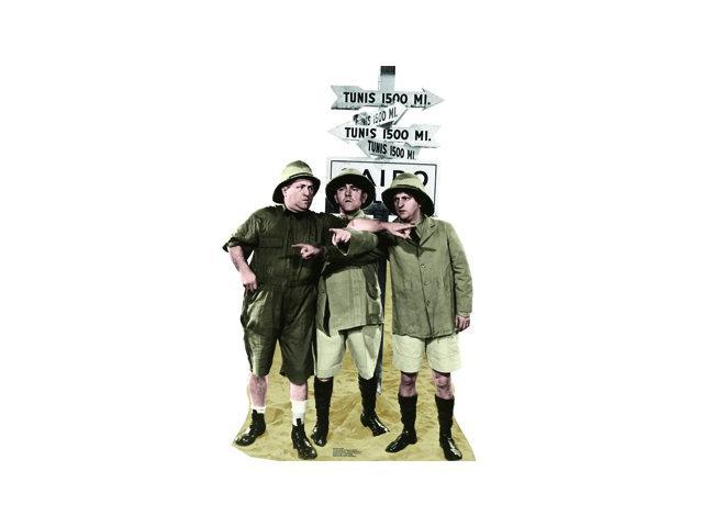 Three Stooges Safari Lifesized Standup