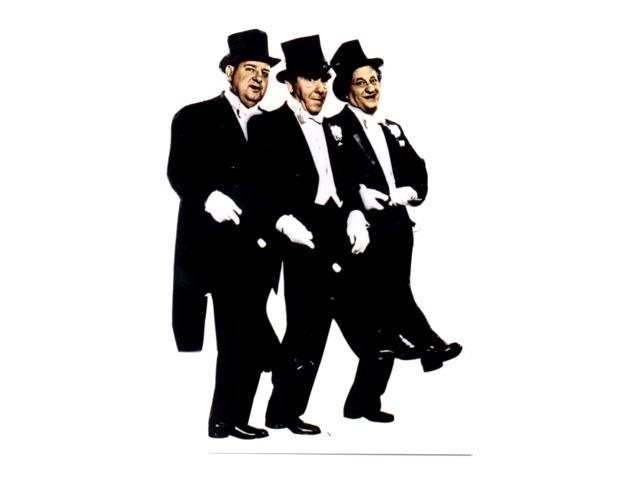 Three Stooges-Tuxedo Lifesized Standup