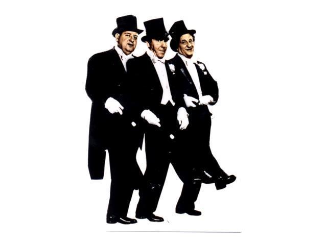 Three Stooges-Tuxedo Lifesized Standup
