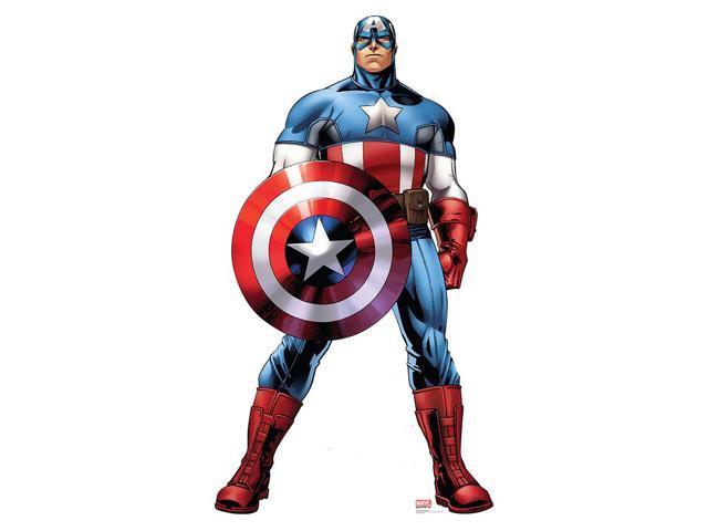Avengers Assemble Captain America Lifesized Standup