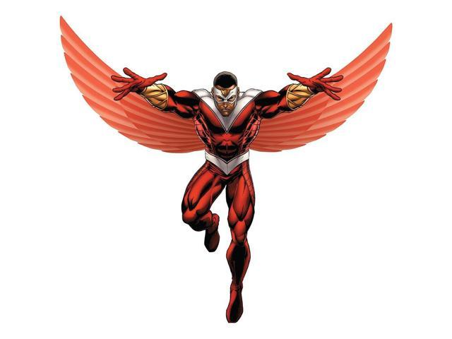 Avengers Assemble Falcon Lifesized Standup