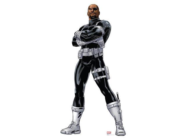 Avengers Assemble Nick Fury Lifesized Standup