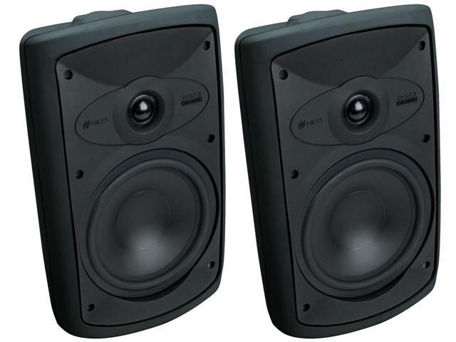 Niles OS7.3 Black (Pr.) 7 Inch 2-Way High Performance Indoor Outdoor Speakers