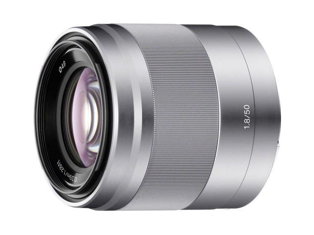 SONY SEL50F18 Compact ILC Lenses 50mm f/1.8 Lens Silver