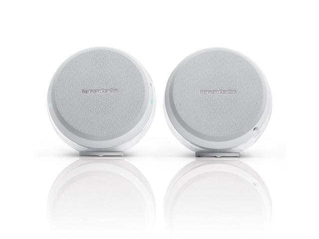 Harman Kardon HKNOVAWHT Nova 2.0 Wireless Bluetooth Stereo Speaker System (White)