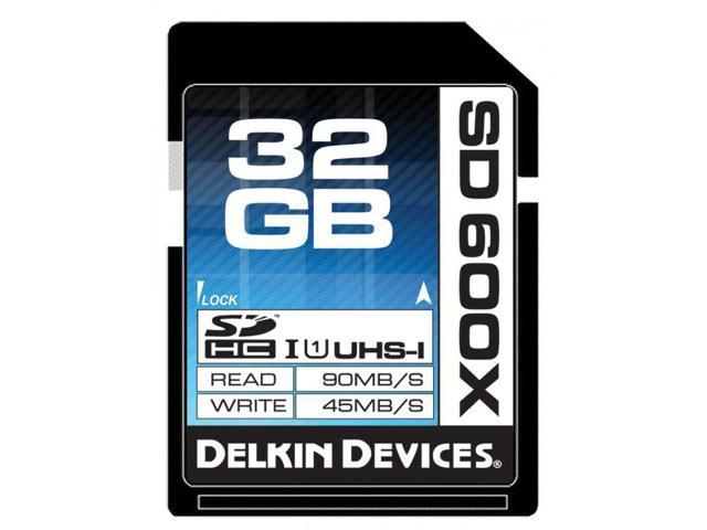 Delkin Devices DDSD600 32GB 600X UHS-I SDHC Memory Card