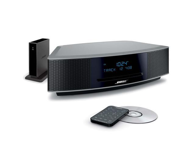 bose wave iv platinum silver bundle music system. Black Bedroom Furniture Sets. Home Design Ideas