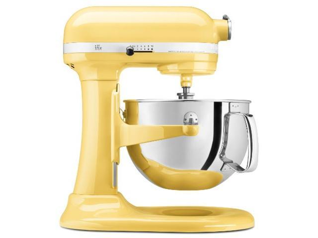 NEW Kitchenaid KP26M1Xmy Pro 600 Stand Mixer 6 qt Majestic Yellow Large Capacity