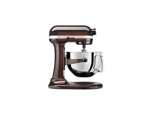 Kitchenaid kp26m1xES Professional 600 Stand Mixer 6 quart ALL METAL Espresso 10s Refurbished