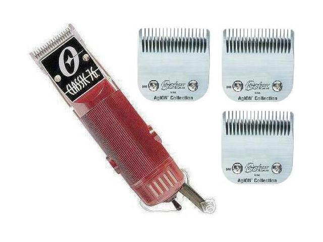 New Oster Classic 76 Hair Clipper 3-Blades 000+1+ 3-1/2