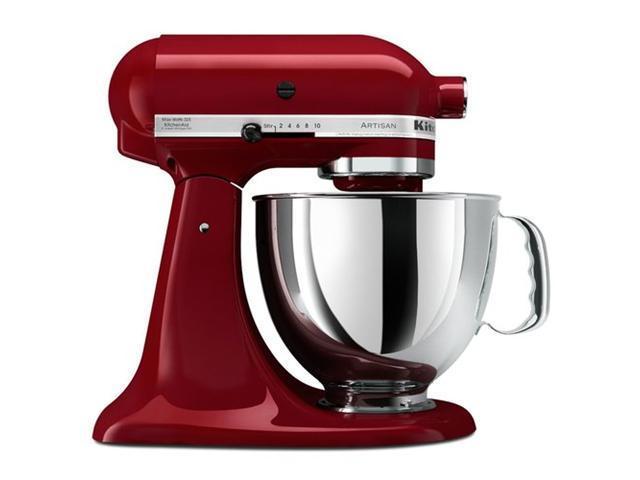 Kitchenaid Stand Mixer tilt 5-Quart R-ksm150psgc Artisan dark red Gloss Cinnamon Manufacturer Refurbished