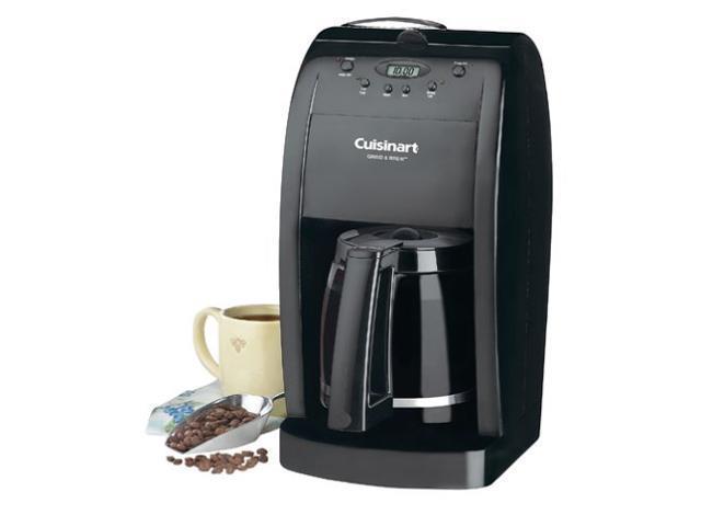 Cuisinart RDGB-500BK dgb-500 12 Cups Coffee Maker Grinder Grind & Brew Black Manufacturer Refurbished