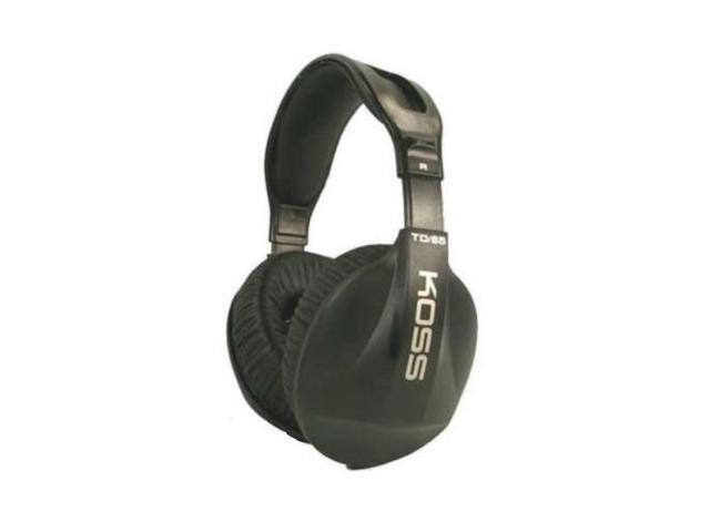 Koss TD-65 Deep Bass Headphones Digital Audio Total Isolation Stereophone