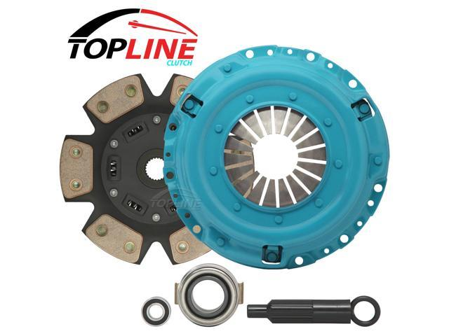TOPLINE 6 Puck Stage 3 Racing Clutch Kit 97-99 MERCURY Tracer (2.0L)