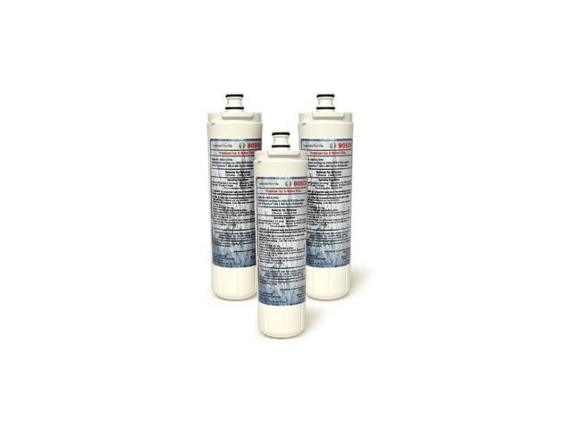 Bosch 640565 Refrigerator Water Filter, 3-Pack