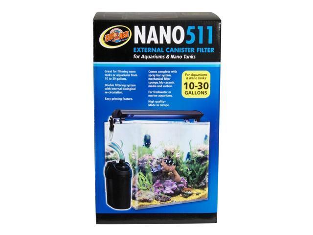 Zoo Med Nano 511 External Canister Filter - Newegg.com