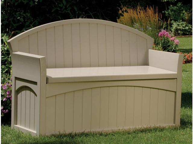 Extra Large Patio Chair Cushion Storage Outdoor Storage Bench