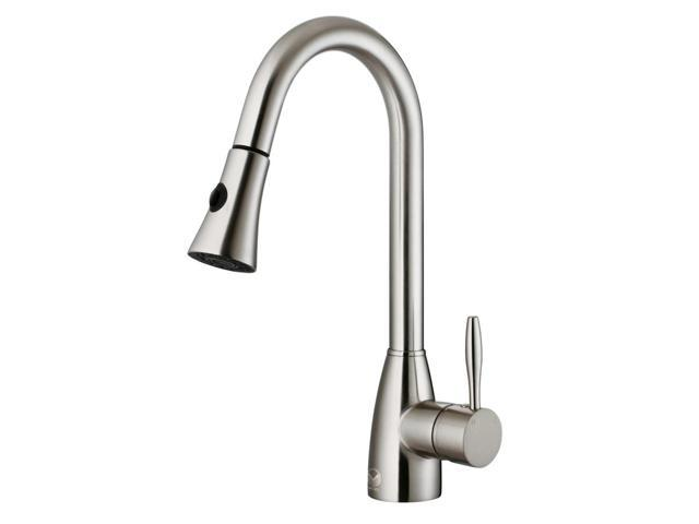 Stainless Steel Pull Down Spray Kitchen Faucet Newegg