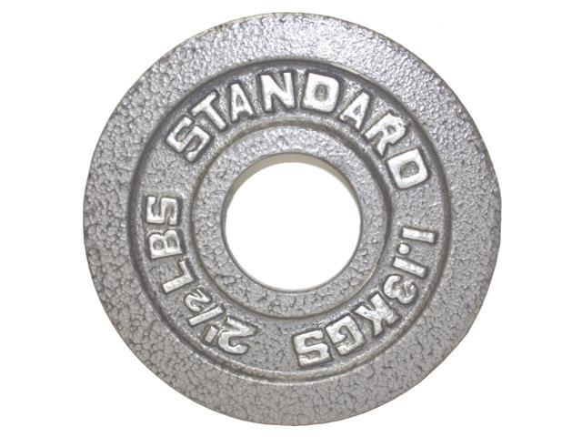 USA Sports Gray Olympic Plate Weight - 2.5 Lbs