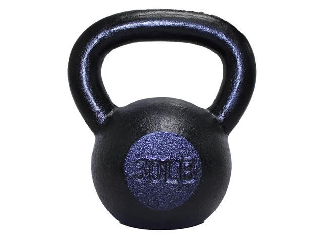 Troy Cast Iron Kettlebell w Rounded Handle (5 lbs.)