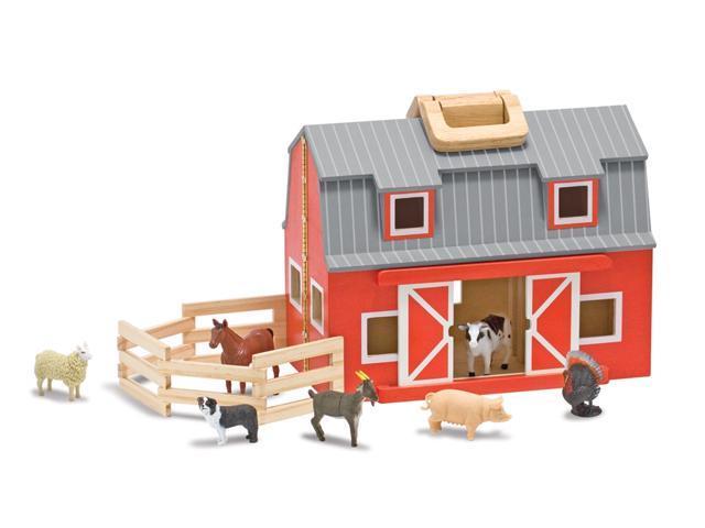 Puzzled Peg Puzzle Farm Animal Shaped Woo