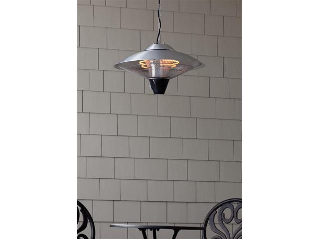 Mojave Sun 1500 Watt Hanging Stainless Steel Halogen Patio/Indoor Heater