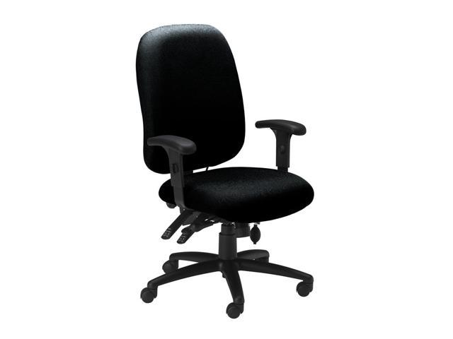 Comfort Series High Performance Arm Chair in Black