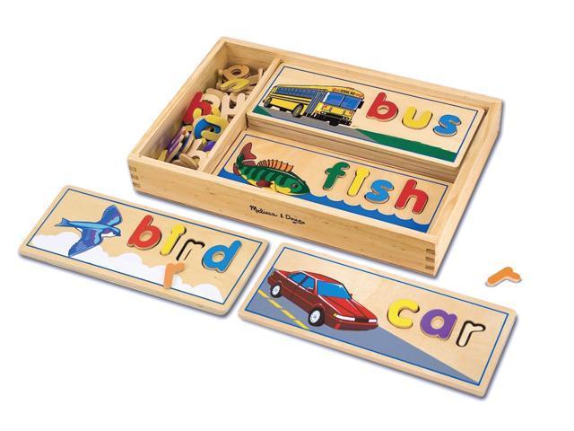 Wooden Puzzle Letters