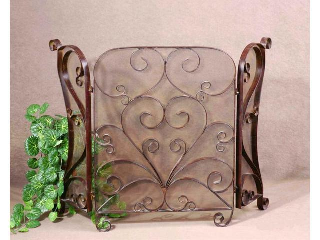 Uttermost, Daymeion Fireplace Screen, Accessories