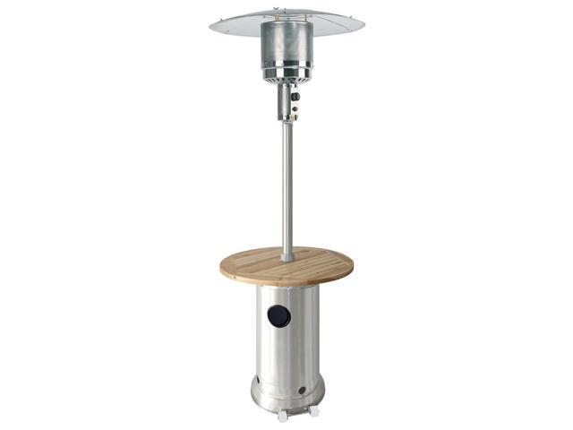 Patio Heater in Stainless Steel - Residential Heaters
