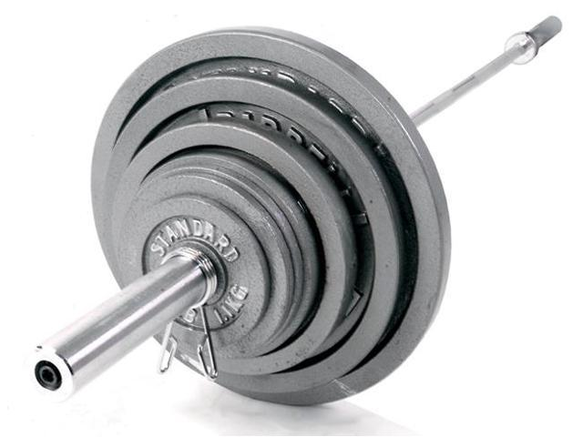 CAP Barbell Solid Bar in Chrome (60 in. Bar)