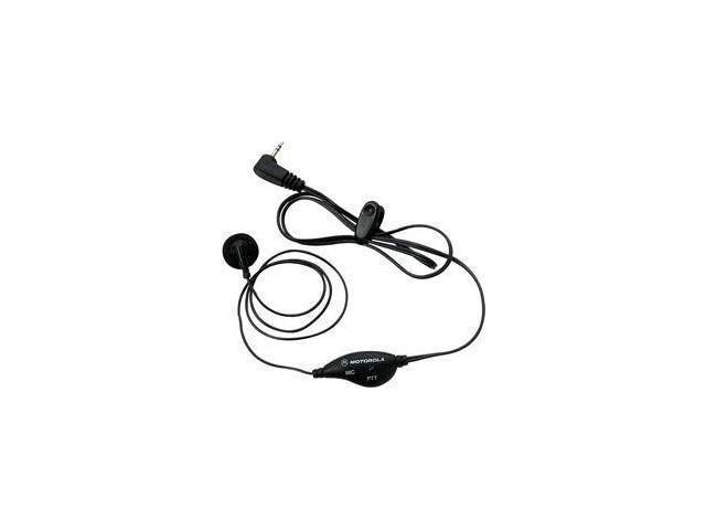 Motorola 53727 PTT Earset - Earbud - Black