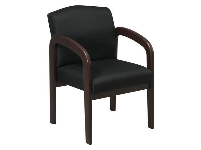 Espresso Finish Wood Visitor Chair with Black Triangle  : A2HK120130920171605472 Chair Back <strong>Cushion for Office</strong> from www.newegg.com size 640 x 480 jpeg 13kB