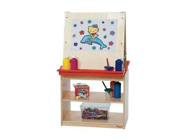 Kid's Play Art Center w Plastic Trays