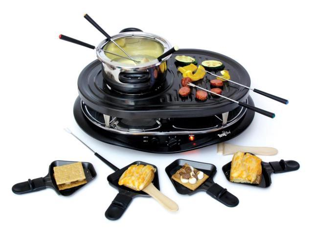 Total Chef Raclette Grill w Fondue