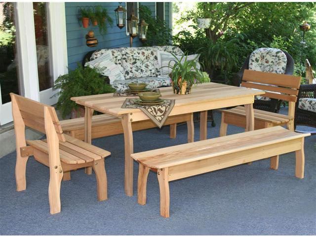 5 Pc Gathering Dining Set (Extra Large)