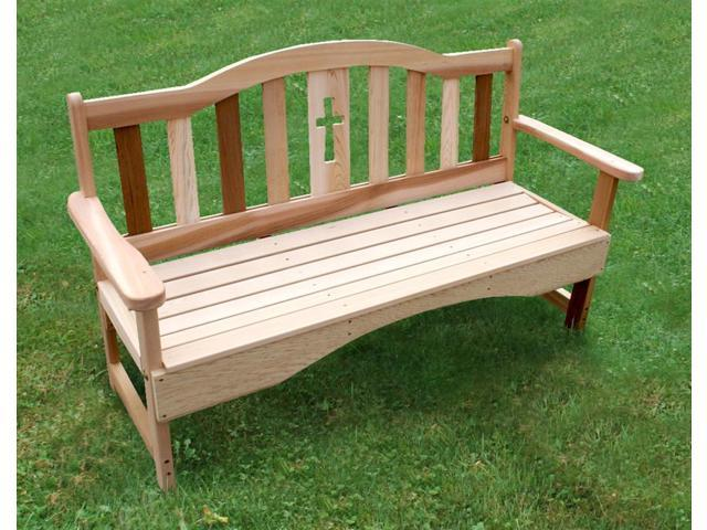 Holy Cross Garden Bench (Extra Large)