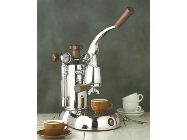 Stradavari Professional Wood Handle Espresso & Cappuccino Maker