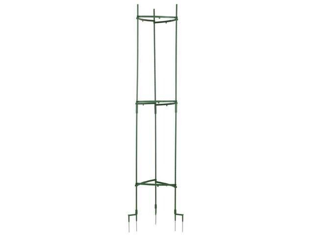 Stake It Easy Adjustable Plant Staking System in Green