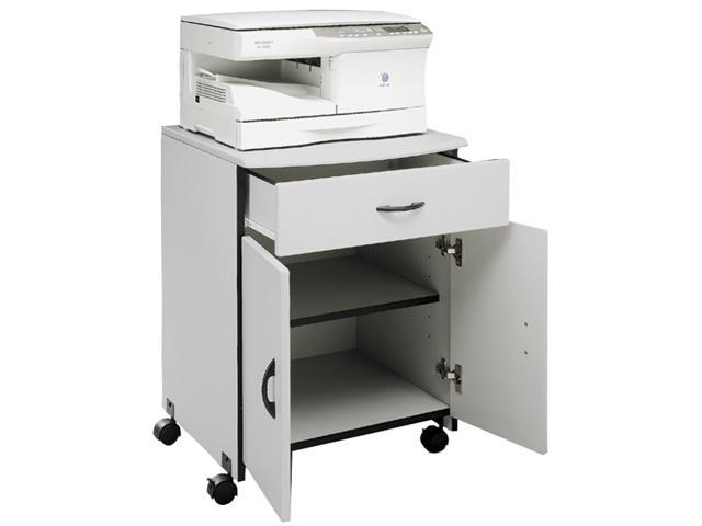 Wood Printer/Copier Stand with Drawer