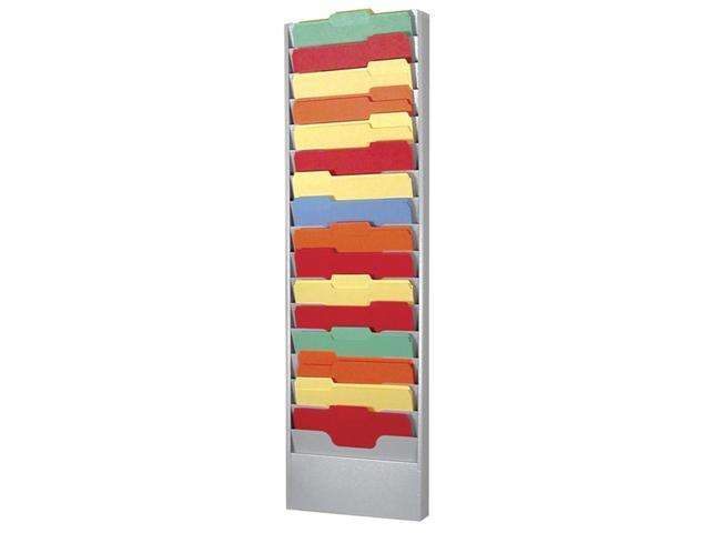 16 Pocket Metal Literature Rack