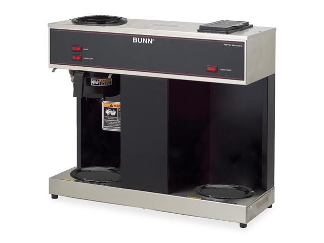 "Bunn-O-Matic Corporation 3-Warmer Brewer, 23""X8""X19-13/15"", Stainless Steel/Black"