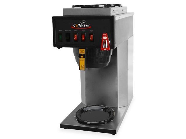 "Coffeepro 3 Burner Coffeemaker, 14""X26""X24"", Stainless Steel"