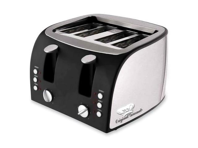 "Coffeepro 4-Slice Toaster, 12-1/2""X11-1/2""X8-1/4"", Stainless Steel"