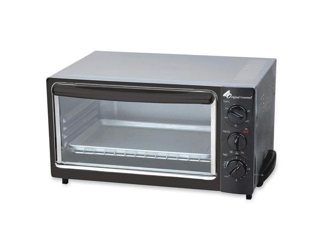 "Coffeepro Toaster Oven, 16""X12""X10"", Stainless Steel, Black"