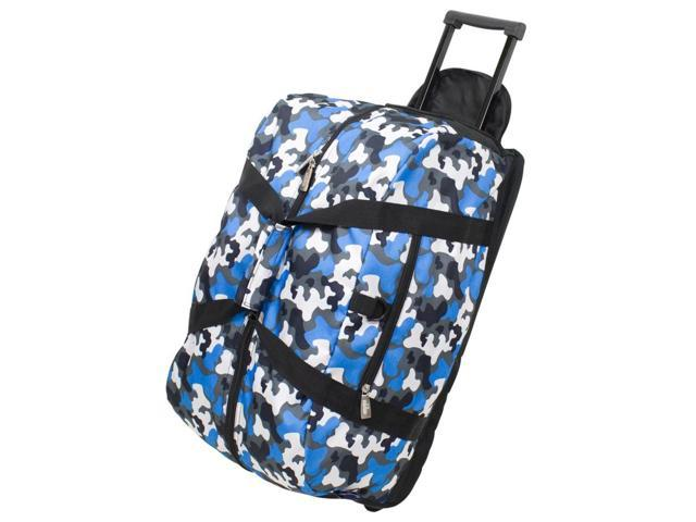 Good Times Polyester Rolling Duffel Bag