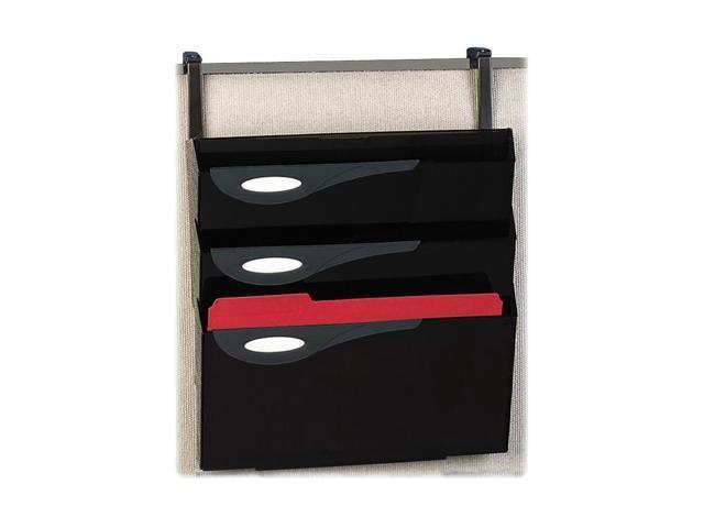 "Rubbermaid Super File Hanger Set,1 Hanger,1Pocket,16""X6""X21-1/8"",Smoke"