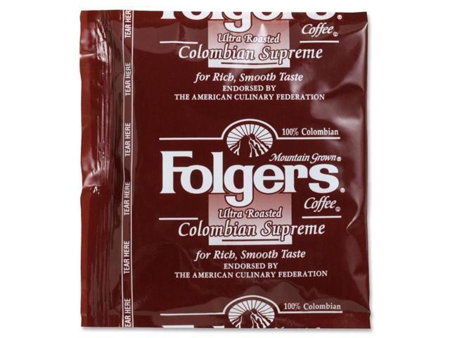 Folgers Folgers Colombian Ultra Roast Coffee, Regular, .9 Oz, 150/Ct